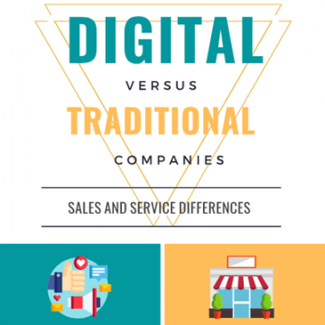 Digital vs. Traditional Sales and Service